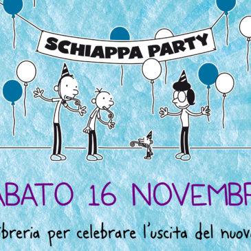 Sabato 16 novembre ore 10,30: SCHIAPPA PARTY- GIORNI DA BRIVIDO